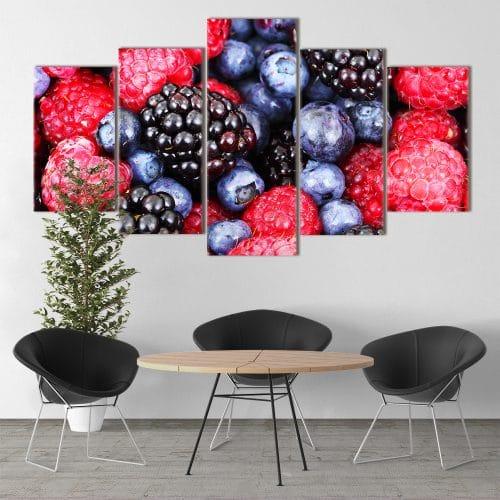 Very Berry Delight unique canvas