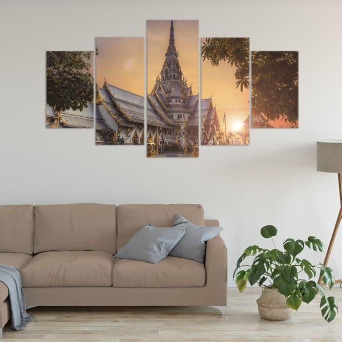 Wat Sothon Wararam Worawihan Temple- Beautiful Home Décor | Unique Canvas