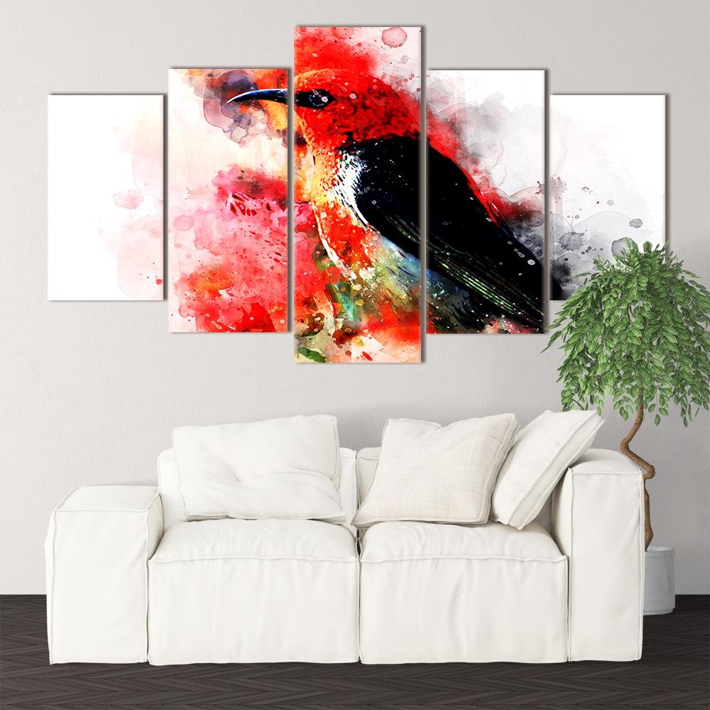 Watercolour Bird - Beautiful Home Décor | Unique Canvas