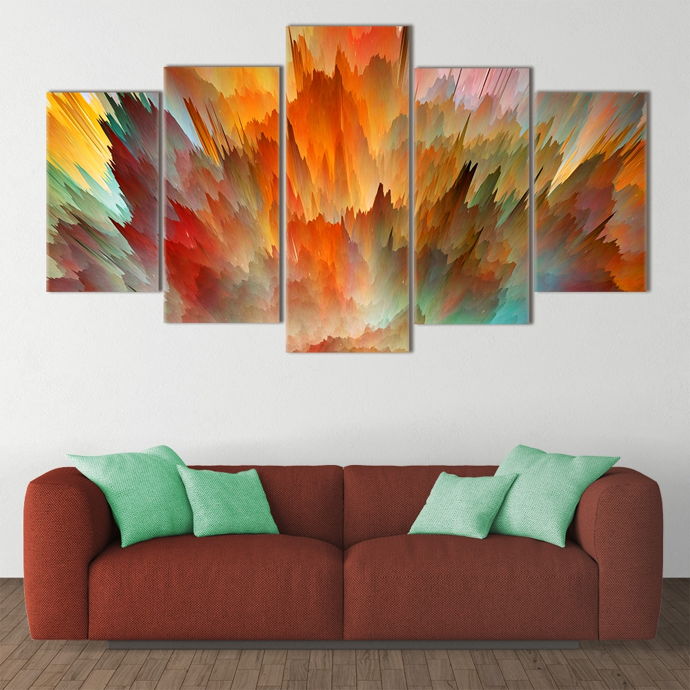 Watercolour Painting Splash - Beautiful Home Décor | Unique Canvas