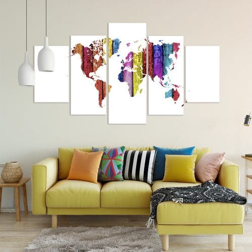 World in Colour - Beautiful Home Décor | Unique Canvas