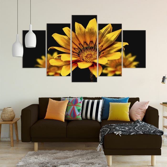 Buy Yellow Flower Love & Flowers Unique Canvas