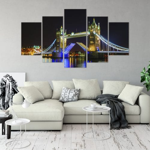Glorious Tower Bridge Cities Unique Canvas