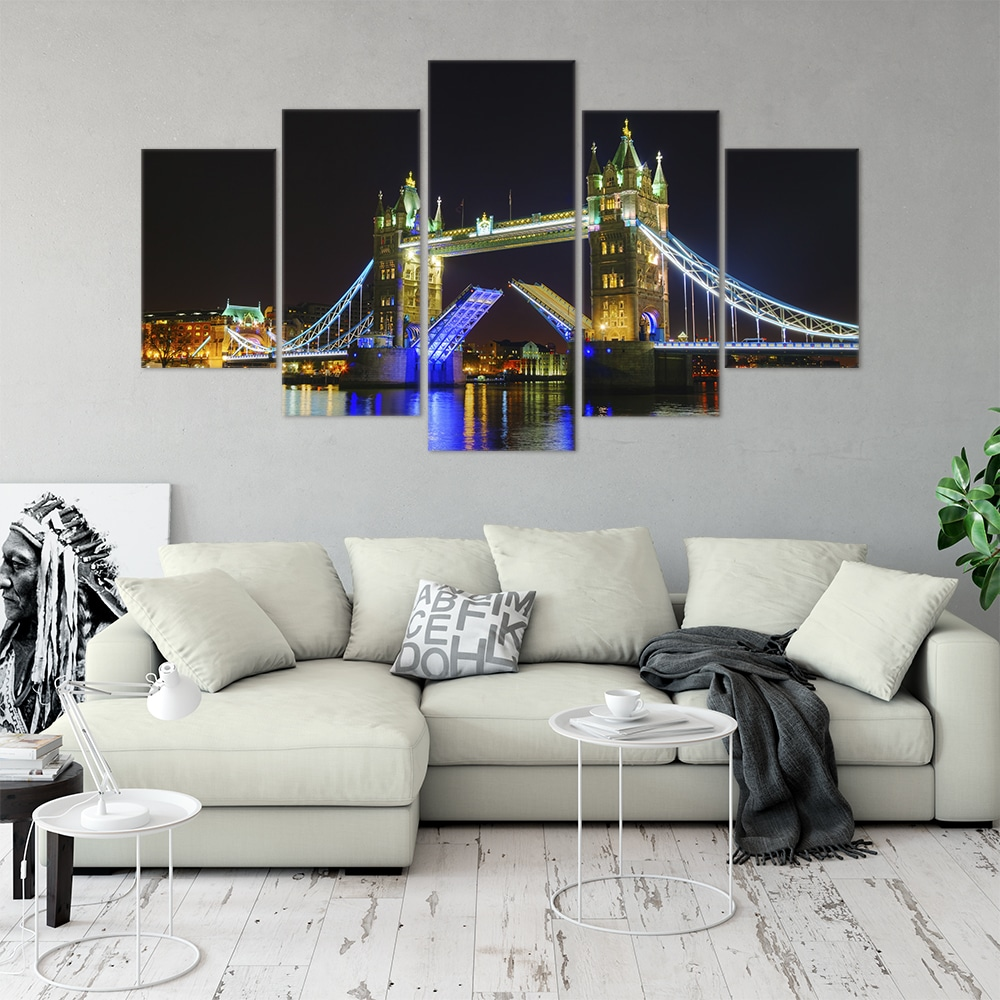 Glorious Tower Bridge Cities Unique Canvas