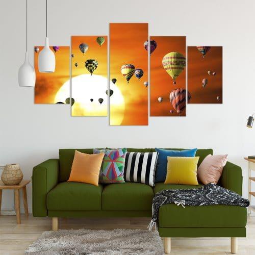 Hot Air Balloons Cappadocia- Beautiful Home Décor | Unique Canvas