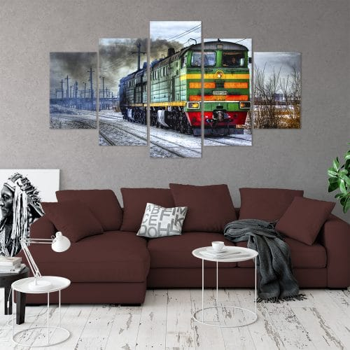 Buy Locomotive Unique Canvas