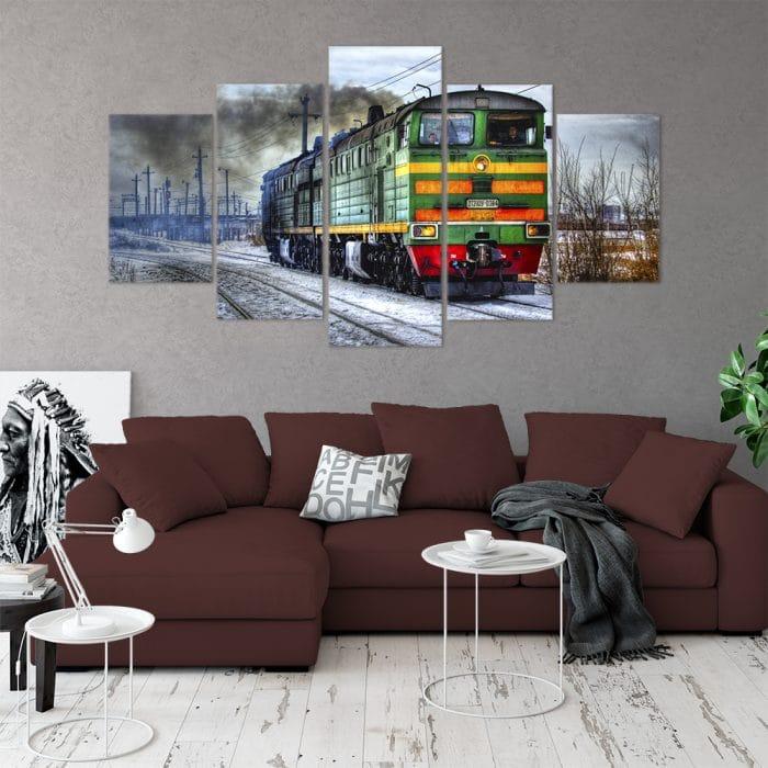 Buy Locomotive Unique Canvas