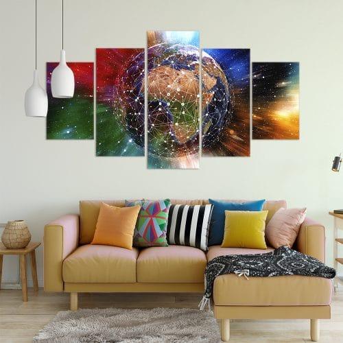 Network World Unique Canvas