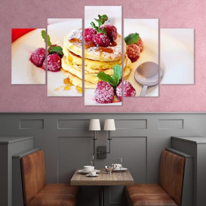 Pancake Delight unique canvas