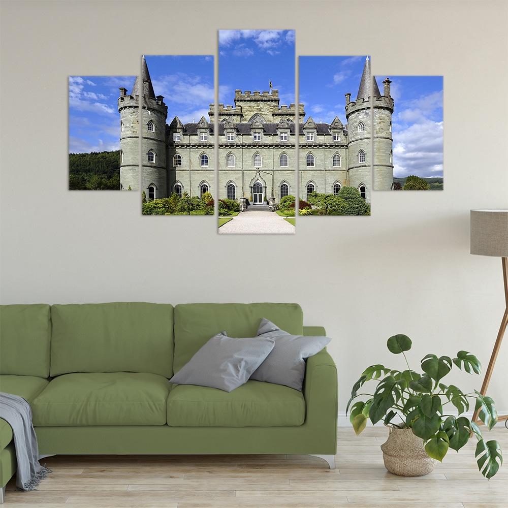 Scottish Castle- Beautiful Home Décor | Unique Canvas
