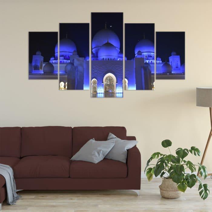 Sheikh Zayed Mosque - Beautiful Home Décor | Unique Canvas
