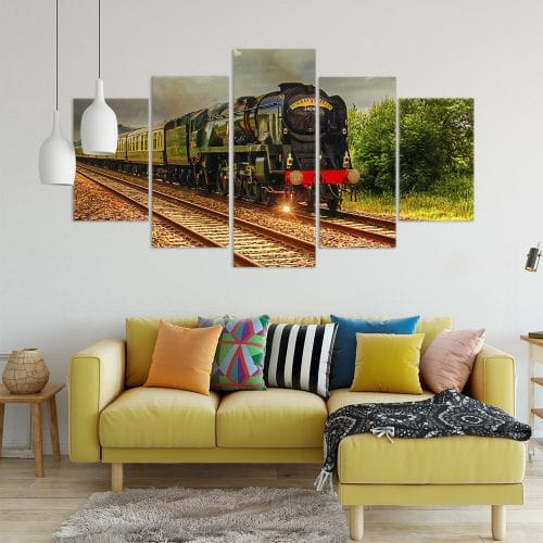 Buy Steam Loco Unique Canvas