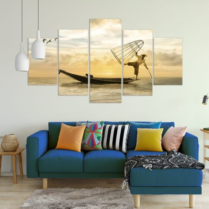 Traditional Fishing- Beautiful Home Décor | Unique Canvas