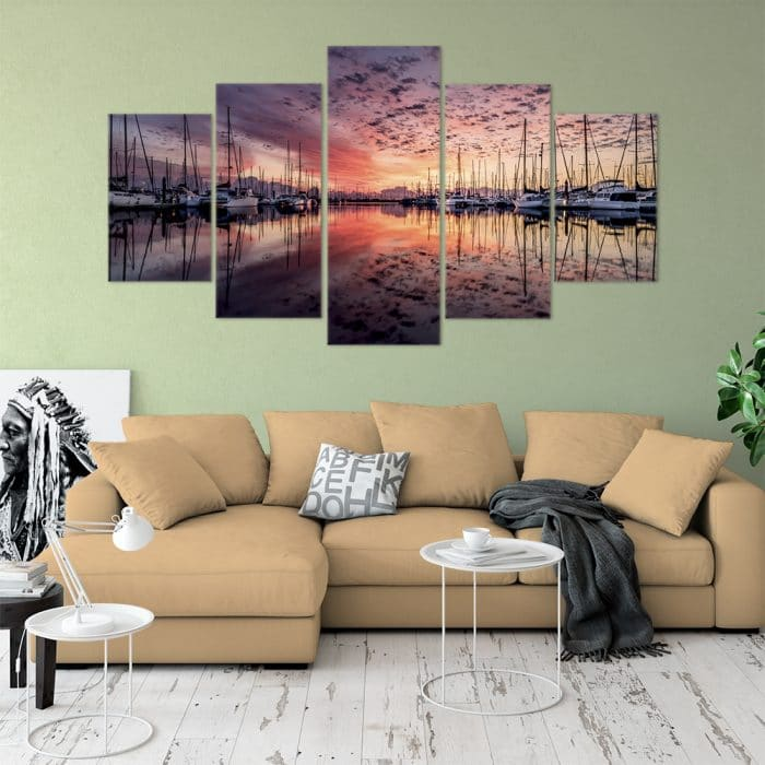 Sunset Yachts- Beautiful Home Décor | Unique Canvas