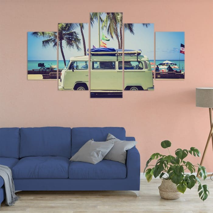 Vintage Beach Trips- Beautiful Home Décor | Unique Canvas