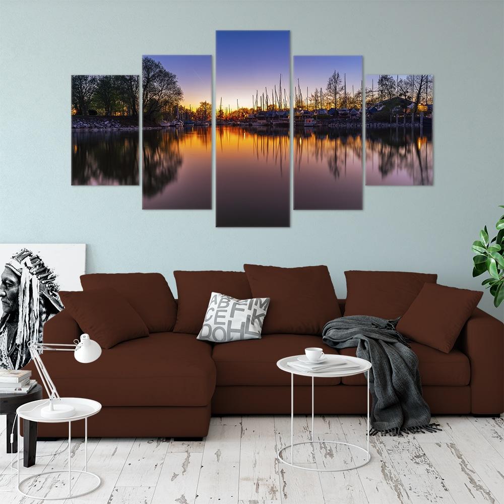 Water Reflections- Beautiful Home Décor | Unique Canvas