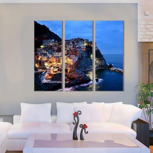 Cinque Terre Italy - Beautiful Home Décor | Unique Canvas