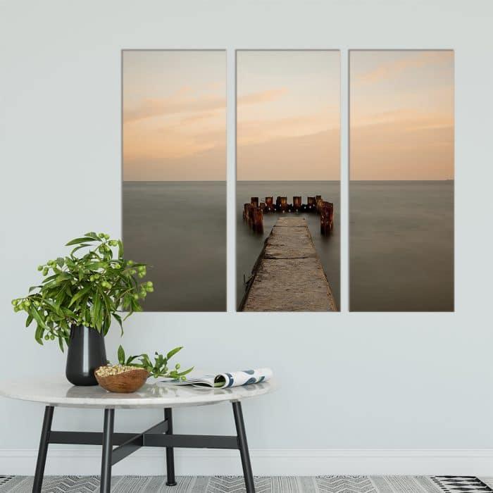 Old Sea Pier - Beautiful Home Décor | Unique Canvas