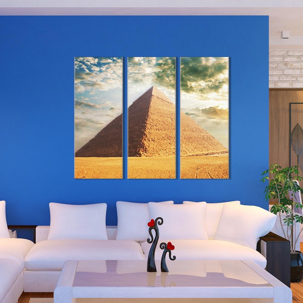 Pyramid - Beautiful Home Décor | Unique Canvas
