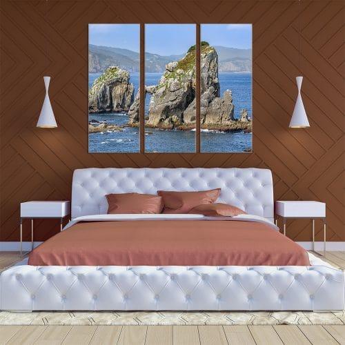 Coastal Rocks - Beautiful Home Décor | Unique Canvas