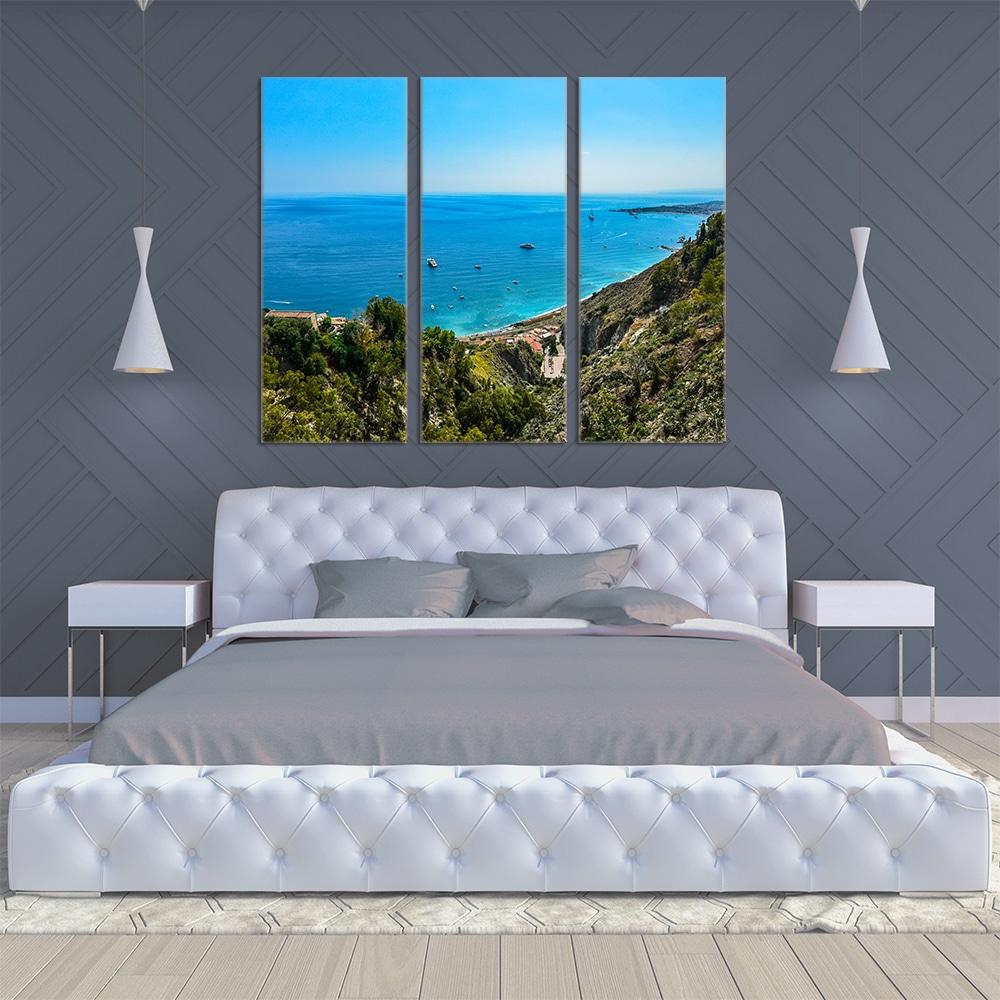 Taormina Sicily - Beautiful Home Décor | Unique Canvas