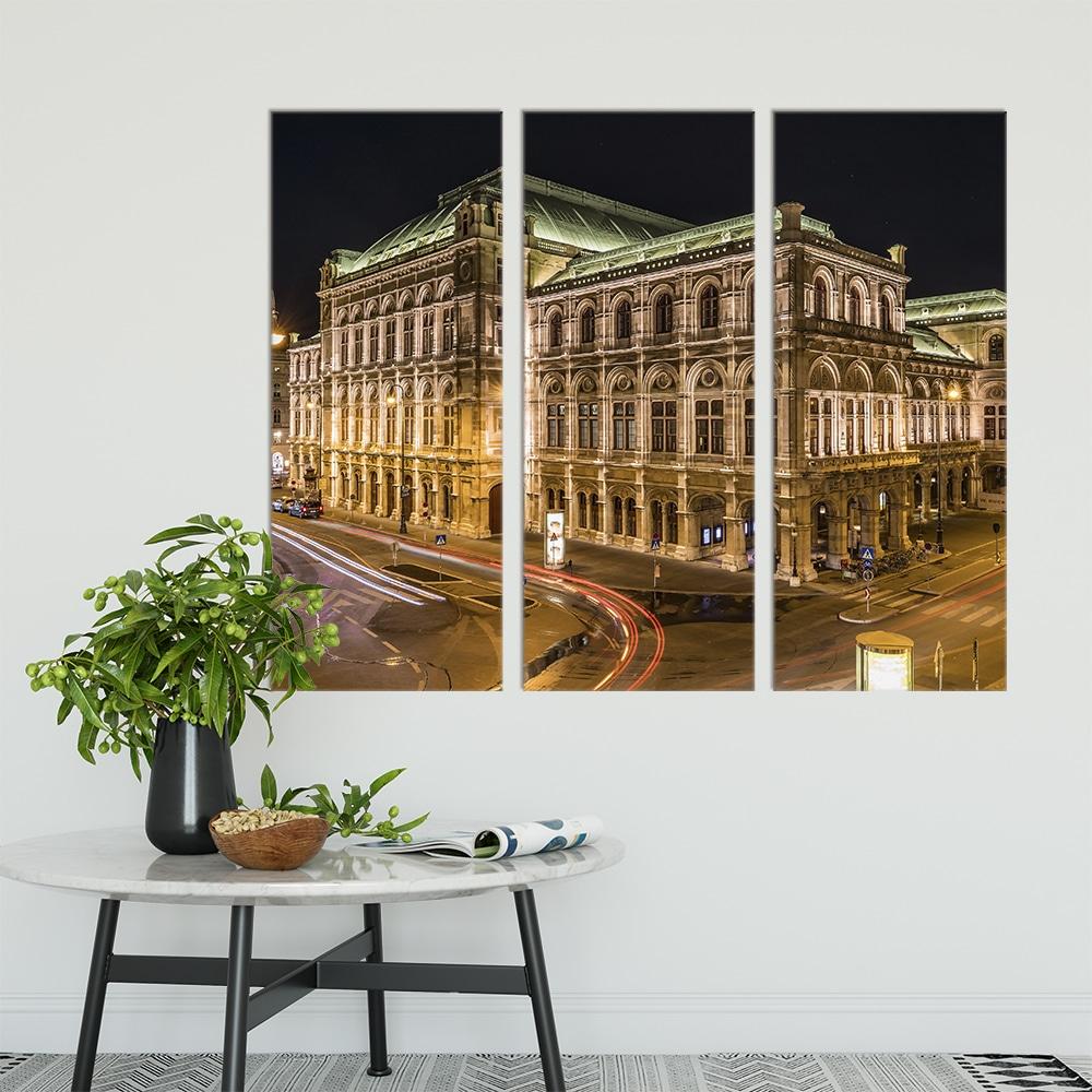 Vienna Staatsoper - Beautiful Home Décor | Unique Canvas