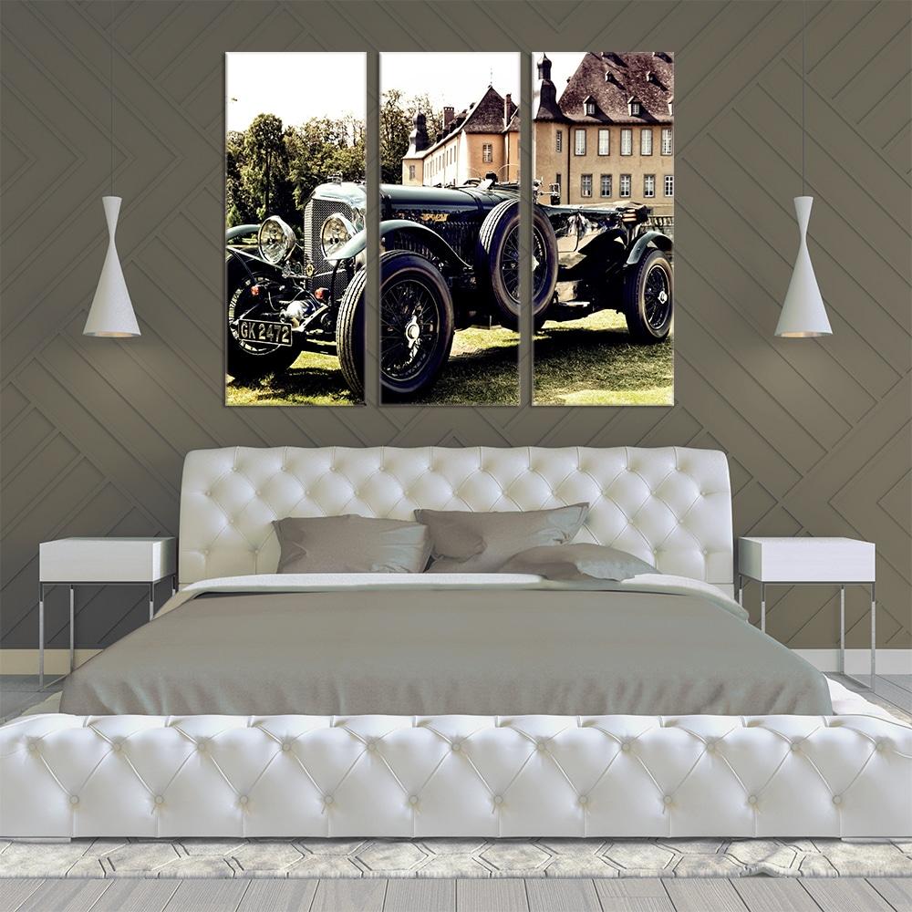 Bentley Speed Six - Beautiful Home Décor | Unique Canvas
