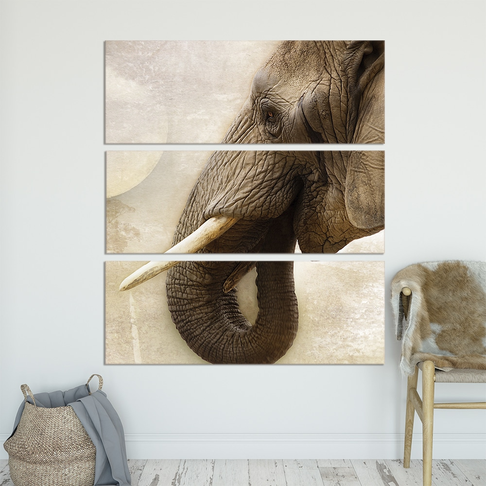Elephant Wisdom - Beautiful Home Décor | Unique Canvas