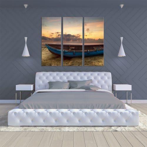 Rowing Boat - Beautiful Home Décor | Unique Canvas