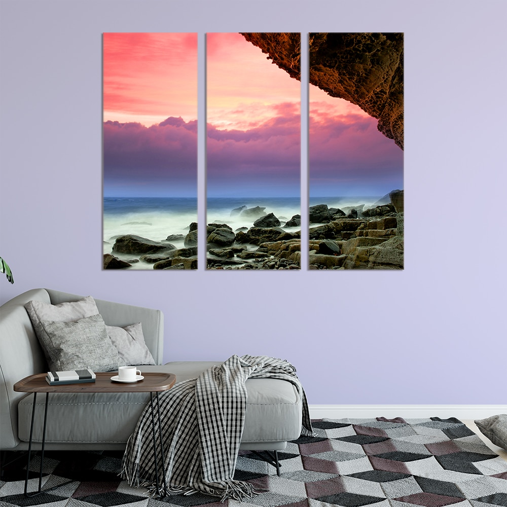 Sea Rocks - Beautiful Home Décor | Unique Canvas