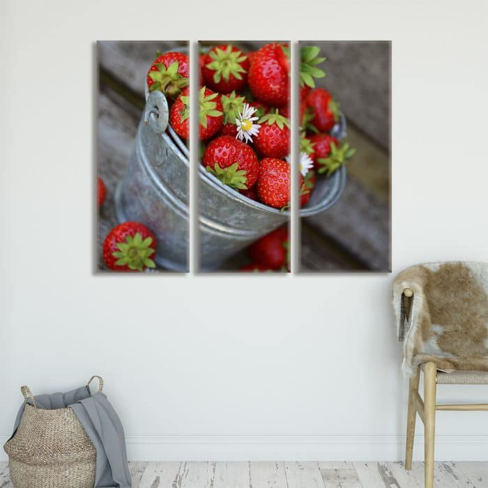 British Strawberries - Beautiful Home Décor | Unique Canvas