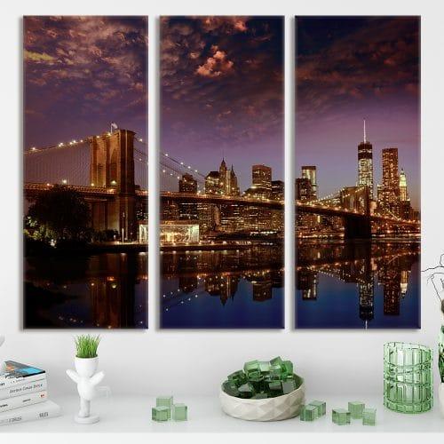 Brooklyn Bridge - Beautiful Home Décor | Unique Canvas