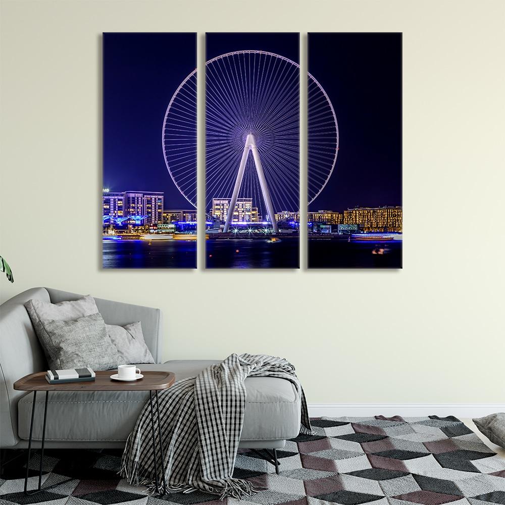 Ferris Wheel - Beautiful Home Décor | Unique Canvas