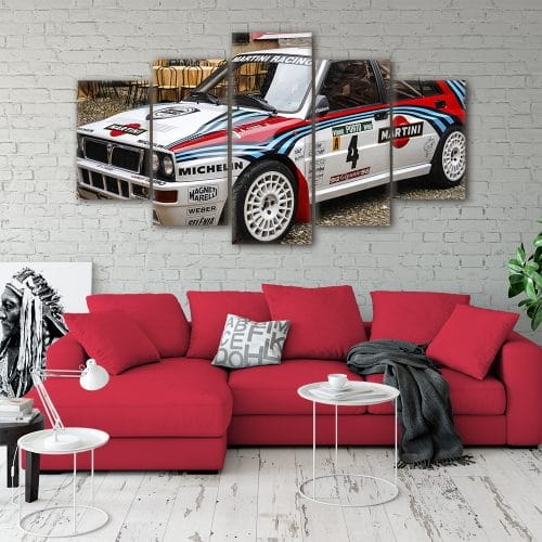 Lancia Delta Integrale Cars Unique Canvas