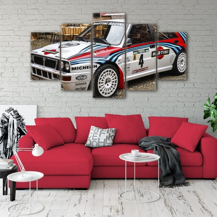 Lancia Delta Integrale Cars Unique Canvas