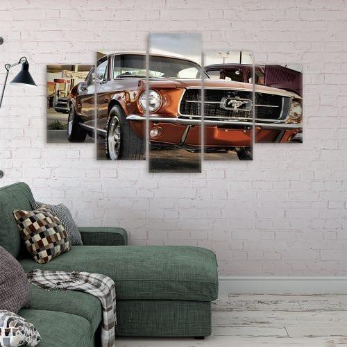 Buy Mustang Cars Unique Canvas