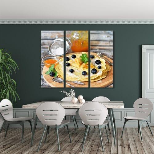 Pancake Stack - Beautiful Home Décor | Unique Canvas