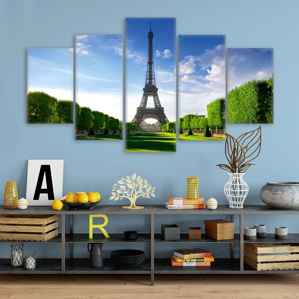The Eiffel Tower - Beautiful Home Décor | Unique Canvas