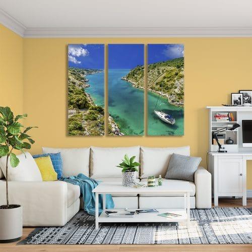 Tropical Sailing - Beautiful Home Décor | Unique Canvas